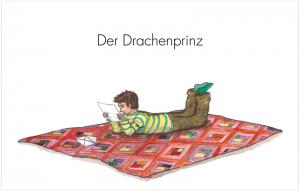 Cover Louiza Fröbe Der Drachenprinz