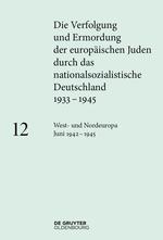 Cover Die Verfolgung und Ermordung der europäischen Juden 12