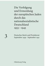 Cover Die Verfolgung und Ermordung der europäischen Juden 3
