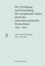 Cover Die Verfolgung und Ermordung der europäischen Juden 5