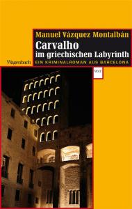 Cover Montalban Carvalho im griechischen Labyrinth