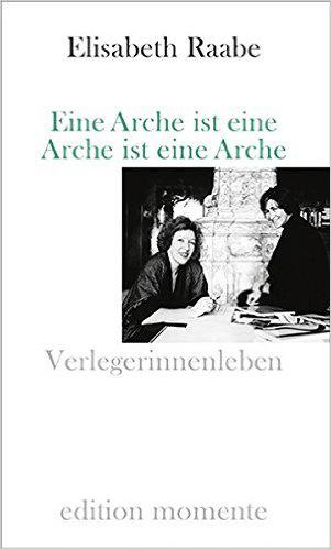 Cover Elisabeth Raabe Eine Arche ist eine Arche