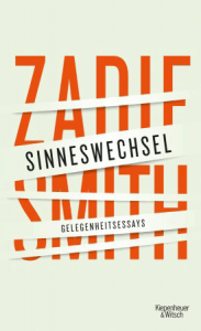 Cover Zadie Smith Sinneswechsel