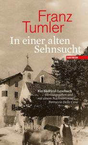 Cover Franz Tumler In einer alten Sehnsucht