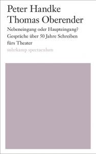 Cover Peter Handke Nebeneingang oder Haupteingang