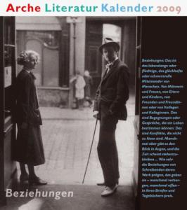Cover Arche Literatur Kalender 2009