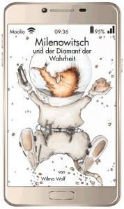 Cover Wilma Wolf Milenowitsch und der Diamant der Wahrheit