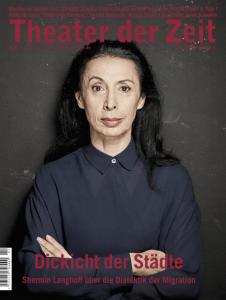 Cover Theater der Zeit Heft 4 2017