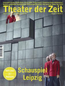 Cover Theater der Zeit Heft 06/2017