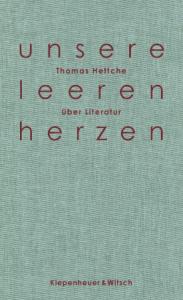 Cover Thomas Hettche unsere leeren herzen
