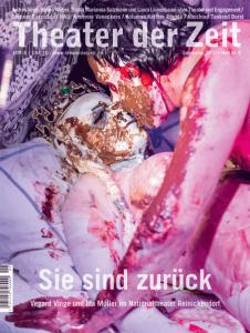 Cover Theater der Zeit Heft 9 Sie sind zurück