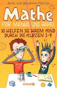 Cover Ruth und Benjamin Prüfer Mathe für Mamas und Papas