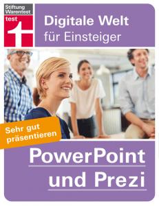 Cover Stiftung Warentest PowerPoint und Prezi