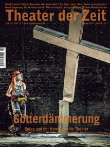 Cover Theater der Zeit Heft 10 Götterdämmerung