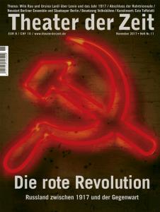 Cover Theater der Zeit Heft 11 Die rote Revolution