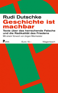 Cover Dutschke Geschichte ist machbar