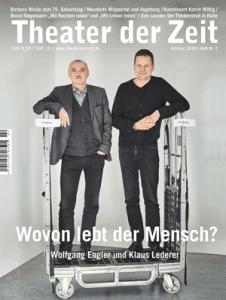 Cover Theater der Zeit Heft 2 Februar 2018