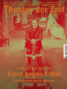 Cover Theater der Zeit Heft 5 Mai 2018