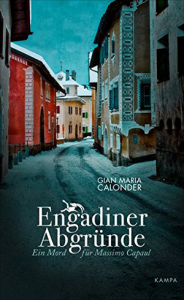 Cover Gian Maria Calonder Engadiner Abgründe