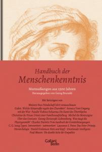 Cover Georg Brunold Handbuch der Menschenkenntnis