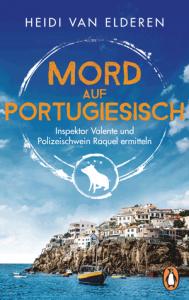 Cover Heidi van Elderen Mord auf Portugiesisch