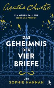 Cover Sophie Hannah Das Geheimnis der vier Briefe