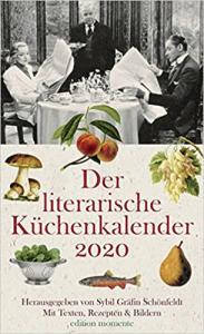 Cover Der literarische Küchenkalender 2020