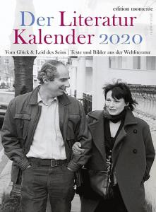 Cover Der Literatur Kalender 2020