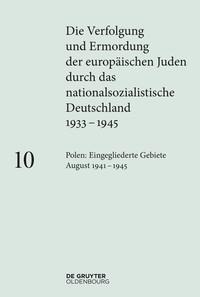 Cover Verfolgung und Ermordung der europäischen Juden 10