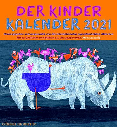 Cover Der Kinder Kalender 2021