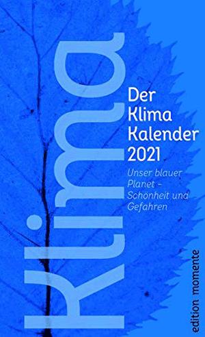 Cover Der Klima Kalender 2021