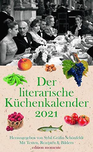 Cover Der literarische Küchenkalender 2021