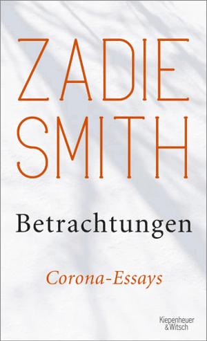Cover Zadie Smith, Betrachtungen
