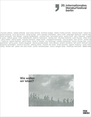 Cover Katalog 20. internationales literaturfestival berlin